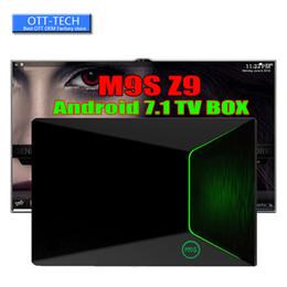 Hdmi ethernet tv en Ligne-Authentique Android 7.1 S912 TV Box M9S Z9 2Go 16Go Gigabit Ethernet 5G AC WiFi BT4.0 3D Octa Core 4K TV Boîtes Mieux T95Z PLUS