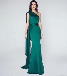 Sexy robes de soirée sirène vert émeraude ? partir de fabricateur