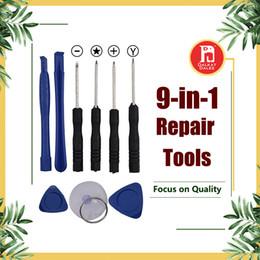 Kit de levier de réparation 9 en 1 Outils d'ouverture avec tournevis en Y Tournevis Torx Pentalobe Star 5 points pour APPLE iPhone X 8 7 6S 6 Plus 5S ? partir de fabricateur