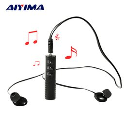 Wholesale Usb Bluetooth Module - AIYIMA Wireless Transmitter Receiver Reproductor Mini USB MP3 Player Bluetooth Audio Receiver 4.1 Car Bluetooth MP3 Module