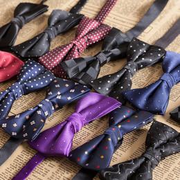 Argentina Pajaritas de poliéster Sivler con pañuelo a juego Pajarita de corbata Bowtie de poliéster exclusivo para hombre supplier polyester tuxedos Suministro