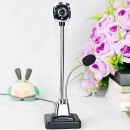 2019 cámara de video sin cables Nuevo M800 USB 2.0 Webcams con cable PC portátil 12 millones de píxeles Cámara de video Ángulo ajustable HD LED Visión nocturna con micrófono Envío gratis cámara de video sin cables baratos
