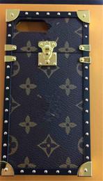 Wholesale metal bumpers - For iphone 8 Paris Fashion Show Case Luxury Brand detachable Metal Bumper Phone Box For iphone 8 7 6 6s plus 8plus 7plus