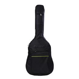 2019 doble bajo 41 pulgadas Classic Soft Guitarra acústica Bass Bass Holder con doble acolchado correas de instrumentos Bolsas de instrumentos doble bajo baratos