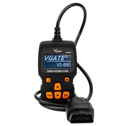 Wholesale finnish languages - Vgate VS890S OBD2 OBDII EOBDII CAN Car Code Reader Diagnostic Tool Support Multi-Brands Cars For Multi-languages