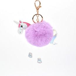 2019 mario großer plüsch Einhorn Schlüsselanhänger Pom Pom Ball Kinder Schlüsselanhänger Weihnachtsstrumpf Kleines Geschenk Weihnachtsgeschenk Ideen Einhorn Tasche Anhänger
