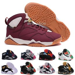 Wholesale Online Winter Sale - [With Box]Cheap Air 7 French blue basketball shoes Raptor Hares Bordeaux Olympic sport sneaker shoes,For online hot sale us size 8-13