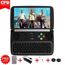 "Wholesale computer intel core - New GPD Win 2 WIN2 Intel Core m3-7Y30 Quad core 6"" GamePad Tablet Windows 10 8GB RAM 128GB ROM Pocket Mini PC Computer Laptop"