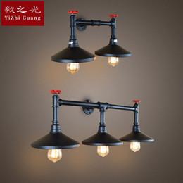 lampe industrielle menée de mur, travaux de fer, lumières de pipe d'eau, lumières de couloir d'allée, lampes de salon, lampes et lanternes ? partir de fabricateur