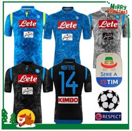 2018 2019 Serie A Naples New Napoli home soccer jerseys Napoli blue football  Jerseys Shirt for men 18 19 HAMSIK L.INSIGNE PLAYER Shirt f93bd51b0