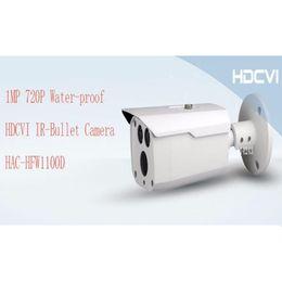 Wholesale Mps Water - Free Shipping DAHUA Outdoor Camera CCTV 1MP 720P Water-proof HDCVI IR Bullet Camera Smart Camera without Logo HAC-HFW1100D