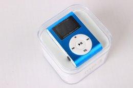 Mini USB Clip LCD pantalla MP3 Media Player compatible con 16GB Micro SD TF LED linterna 3.5mm MP3 Player desde fabricantes