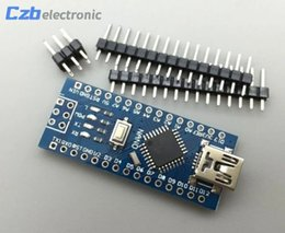 Wholesale arduino controller - With the bootloader Nano 3.0 controller compatible for arduino nano CH340 USB driver (NO CABLE)