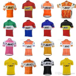 d2463b22e 2018 Summer mens bicycling clothes Bic team cycling short sleeves jersey  MTB bike Ropa Ciclismo Hombre quick dry riding jersey F61402