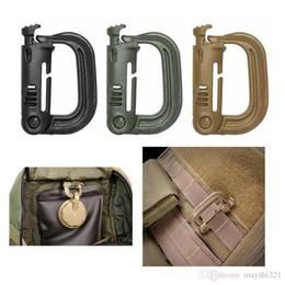 Açık Dişli Askeri Taktik D Halka Plastik Karabina Sırt Çantası Asmak Toka Kanca Anahtar Klip Karabina Bahar Yapış Kanca nereden