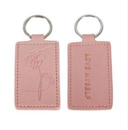 KPOP BTS LOVE MYSELF Porte-clés Porte-clés Garçons Bangtan Rose J-espoir Jin V Porte-clés Porte-clés Suga Jimin Accessoires ? partir de fabricateur