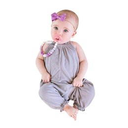 c23320706 Children Clothing Newborn Toddler Kids Baby Girls Strap Romper Jumpsuit  Harem Trousers Summer girls' clothes Baby Rompers 2018
