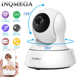 Wholesale home security camera baby monitor - INQMEGA 720P Security baby monitor IP Camera WiFi Home Security CCTV Camera with Night Vision Two Way Audio P2P Remote View