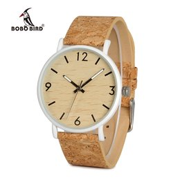 Wholesale Nylon Bird - BOBO BIRD L-E18 Stainless Steel Watches Men Quartz Watch Custom Logo Brand Designer Ladies orologio da polso OEM