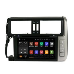Wholesale Touch Screen Radio For Prado - Android 6.0 7.1 4+32GB Car DVD Player GPS Navigation for TOYOTA PRADO 2010 2011 2012 2013 with Radio BT USB AUX Camera Map Canbus