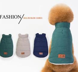 Nouveaux vêtements d'automne et d'hiver de chien, vent occasionnel britannique, Teddy, chien de combat, manteau de coton, deux jambes, manteau, chien, gilet. ? partir de fabricateur