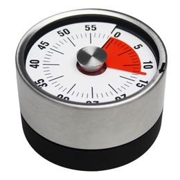 Deutschland BaldrStainless Steel Mechanische Küche Timer Magnet Runde Form 60 Minuten Neuheit Countdown Kochen Wecker Zeit Erinnerung Y18110204 supplier shapes magnets Versorgung