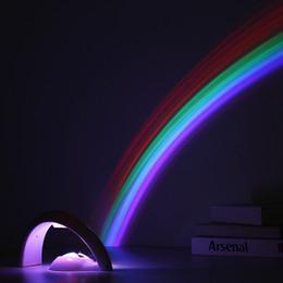 Canada Lucky Rainbow Projecteur Plastique Tactile Type LED Lumière Sécurité Haute Luminosité Lampes De Nuit Projecteur Pour Bébé Drôle 21 5sl BB cheap types projectors Offre