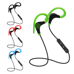 Wholesale ip earphone - Hot Sale 4.1 Wireless Bluetooth Sport Earphone Hand Free Earphone Universal For IP smartphone android phone