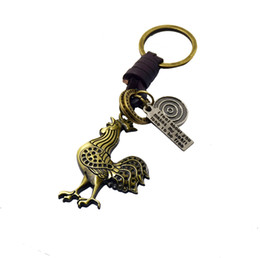 Wholesale Paris Wholesale Accessories - France Paris Tower key rings Cock key chains pendant car keyring bag accessory cool gifts