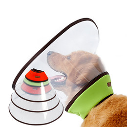 Wholesale Cat Protectors - Pet Dog Cat Cone Neck Collar Puppy Bite-Proof Protector Collar Anti-Bite Medical Recovery Protection Pet Health Beaty Tools