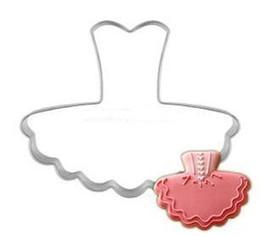 Nouveau Cookie Cutter Robe De Ballet En Métal Cookie Cuttter Biscuit Moule Fille Favorite Livraison gratuite ? partir de fabricateur