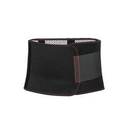 Cinturones de tela negra online-Cinturón deportivo negro tejido de alta calidad pérdida de peso talladora del cuerpo cinturón de soporte cinturón de fitness gimnasio de yoga adelgazante # ST170801