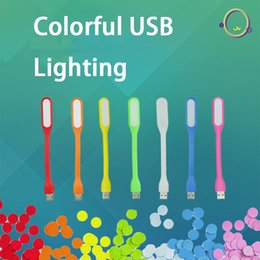 Deutschland SANYI bunte USB-Beleuchtung LED tragbare Energiesparlampen USB-Highlight LED-Computer leuchtet Augenschutz Versorgung