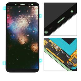 Argentina Para Samsung Galaxy J6 2018 J600 J600F J600Y Pantalla LCD Pantalla táctil al tacto Panel de vidrio Ensamblaje Versión TFT Puede ajustar el brillo cheap tft lcd panel touch screen Suministro