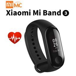 2019 браслеты 2018 Xiaomi 3 Band mi 2 Track Fitness Smart Bracelet 0.78