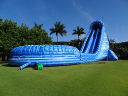Wholesale Pool Inflatable Slides - Inflatable Water Slide With The Pool Game For Kids