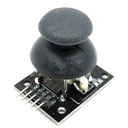spiele ps2 controller Rabatt 5-pin Dual-Achsen-Tastatur PS2 Spiel Joystick Hebel Sensor JoyStick Controller Elektronische Bausteine Für Arduino KY-023