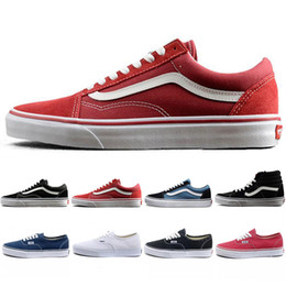 New Arrival Original wans Old Skool Canvas Mens Skateboard Designer Sports  Running Shoes for Men Sneakers Women Casual Shoe Trainers 36-44 77e5a9a41
