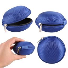 Горячие продажи молнии сумка для наушников кабель мини коробка SD карты портативный портмоне наушники сумка для переноски карманный чехол для хранения 1000 шт. от