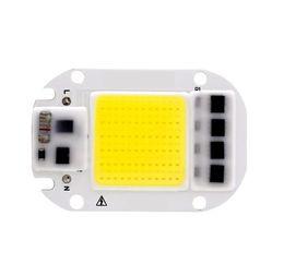2019 led pcb pc COB LED de la viruta 50W 30W 20W 110V 220V inteligente IC No Necesita Conductor de entrada de alta lúmenes chip para DIY LED del reflector del proyector ligero de los granos