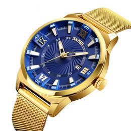 мужчина смотреть золотой цвет Скидка Новое поступление мода мужские часы золотой цвет стальной браслет наручные часы кварцевые часы класса люкс золотой relogio masculino супер подарок для мужчин