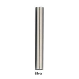 Pilhas novo produto on-line-Novos produtos cartucho de óleo bateria 345 mah bateria de vaporizador de aço inoxidável adequado para cartucho de óleo caneta vape