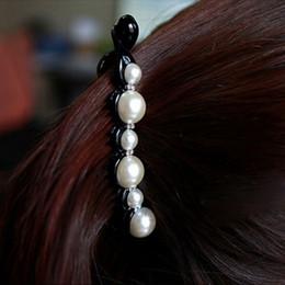 1 PC Noir Perles De Cristal Épingles À Cheveux Cheveux Banane Clips Chapeaux Accessoires de Cheveux pour Femmes Lady Filles ? partir de fabricateur