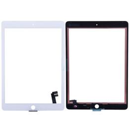Canada Pour iPad Air2 Digitizer A1567 A1566 Écran Tactile Noir Blanc Écran Tactile En Verre Pièces De Réparation pour iPad 6 Navire Libre Offre