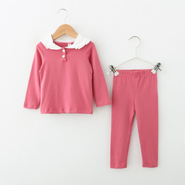 baby pajamas Suit Spring Summer girls Clothing set Kids cotton 2 pcs  Children outfit Sport Tracksuit clothes for girls sleepwear 6760c3e9b