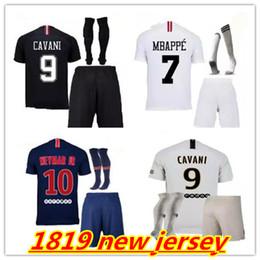 93f67f13d new MEN - kit 2018 2019 NEYMAR JR PsG soccer jerseys 18 19 MBAPPE Di Maria  Draxler DANI ALVES Cavani 3rd football jersey shirt