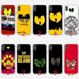 Max artes on-line-Wu tang arte soft silicone tpu case para iphone x xs max xr 8 7 plus 6 6 s plus 5 5S se cobrir