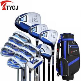 Wholesale Full Set Golf Clubs - Brand TTYGJ men's golf clubs half golf set and complete full set beginner exercise clubs