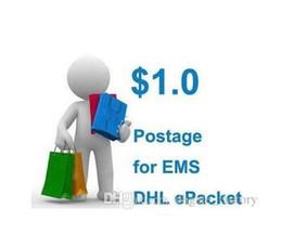 Affrancatura per DHL EMS Cina post epacket o altro modo di spedizione poatage, affrancatura flagship store per compensare la differenza dedicata Small Post da