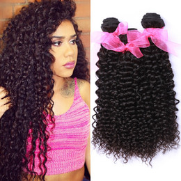 Wholesale raw unprocessed virgin hair wholesale - Indian Curly Virgin Human Hair Bundle Unprocessed 8A Raw Indian Deep Curly Hair Weaves Bundles Cheap Indian Human Hair Weave Bundles Deals